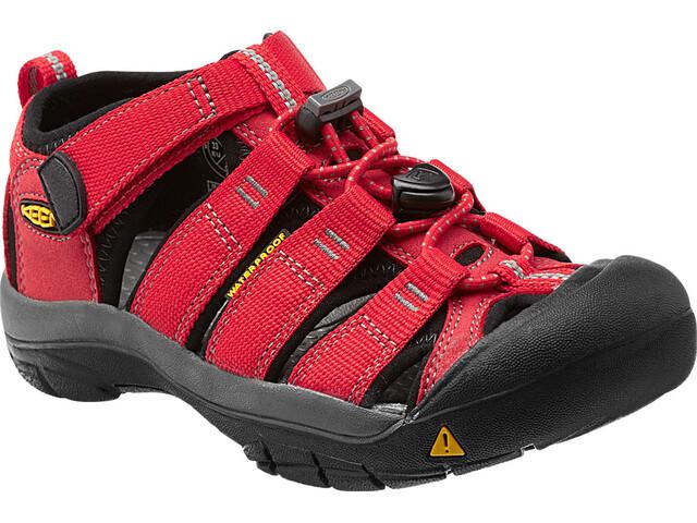 Keen Newport H2 Sandalias Niños, rojo/negro